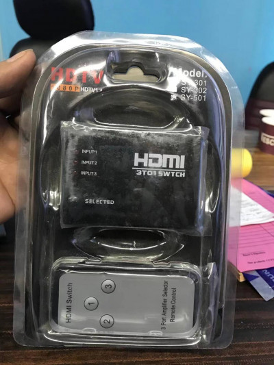 3 in 1 out HDMI Switch