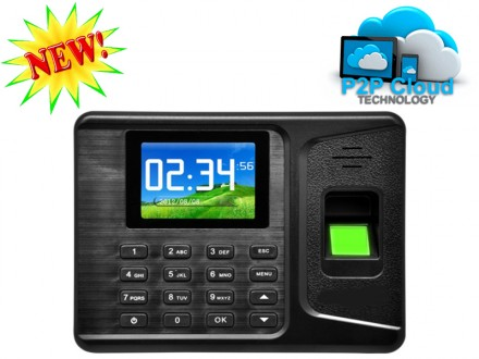 Fingerprint time attendance software with free cloud software