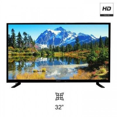 Wega 32inch HD Led TV with Hi-Sound and double glass protection