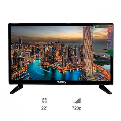 WEGA 22 Inch DLED TV with Double Glass protection